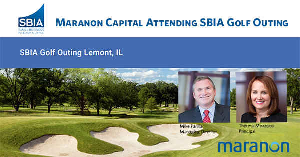 Maranon Capital Attending SBIA Golf Outing Oct 13